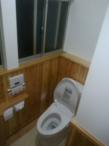 アフター トイレ